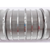 China 0.65mm Slot 1*2mm Wrap Wire Water Filter Elements Stainless Steel 316 wholesale