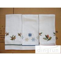 China Lightweight Kitchen Tea Towels Good Water Absorbent Machine Washable wholesale