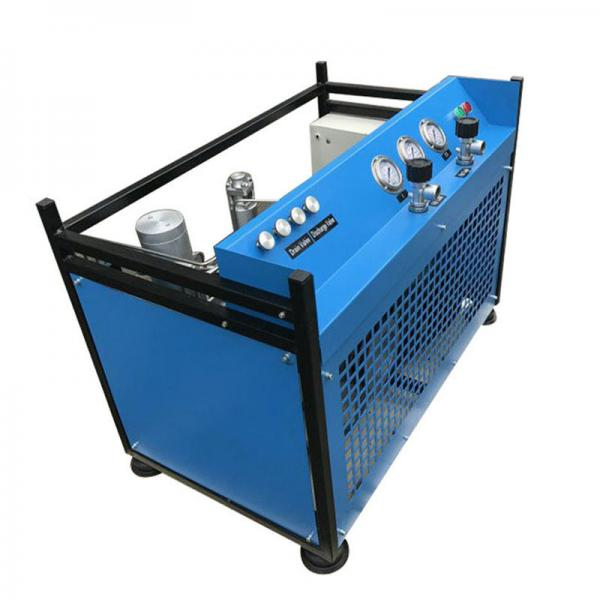 Quality Stationary Air Compressor For Breathing Air Automatic Control Fully Closed Structure for sale