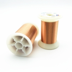 China UEW Insulation Ultra Fine Enameled 0.015mm Self Bonding Wire wholesale