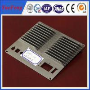 China CNC machined die casting aluminum extrusion heat sink(radiator) profiles wholesale