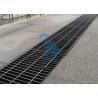 China Le drain rectangulaire de fossé de grille d'évier de plancher couvre le matériel d'acier inoxydable wholesale