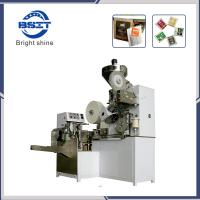 China DXDC8IV Automatic Tea Coffee Filter Paper Packaging Machinery with Inner and Outer Bag and Tag wholesale