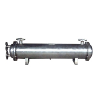 China SS304 Air conditioner shell and tube heat exchanger for heat pump wholesale