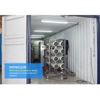 RO Mobile Water Purification Plant , Mobile Water Treatment Systems 1 Year Guarantee