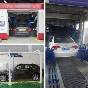 Risense CC 690 Automatic Tunnel Car Wash Machine for  Carwash Business