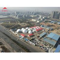 Buy cheap Fire Retardant Geodesic Dome Tent Diameter 30m / Large Commercial Tents from wholesalers