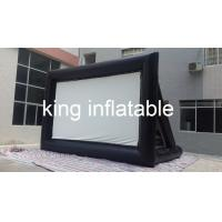 Buy cheap Big Airtight Inflatable Movie Screens CE Appoval PVC Tarpaulin from wholesalers