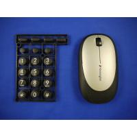 China Overmold Keyboard  / PC wireless Computer Mouse in overmolding plastic wholesale