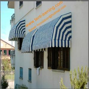 China Elegance Customized Sizes Aluminum Frame Window Canopy  French Style Window Awnings wholesale