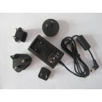 China 20W UL FCC CE switching power supply interchangeable AC plug adaptor from china wholesale