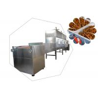 China PLC System Pet Food Microwave Drying Machine wholesale