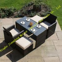 China MTC-227 New model in 2015 of outdoor rattan dining set,garden 4 seats set wholesale