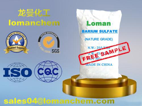 Quality Modified Precipitated Barium Sulfate/White Powder BaSO4 for Chip and Ceramic for sale