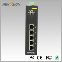 Buy cheap 10Gbps 5 Electric port Industrial Gigabit Ethernet Switch din rail mount from wholesalers