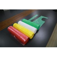 China 720x1170mm White Disposable PE Apron CE Certificate Contact With Food on sale