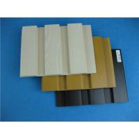 China Colorful Wood Look Exterior Cladding Wood Plastic Composite Wall Cladding wholesale
