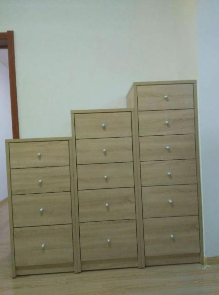 Quality Particle Board Contemporary Home Furnishings Drawers Scratch Proof for sale