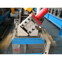Manual / Hydraulic Stud And Track Roll Forming Machine , Steel Frame Roll Forming Machine 4KW