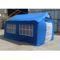 China Outdoor Relief Refugee Tent 3x4m Waterproof UV Resistance Emergency Disaster Tents wholesale