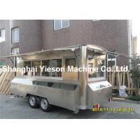 China Camping Kitchen Mobile Cooking Trailers Strong Stainlee Steel on sale