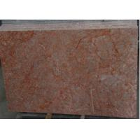 China Rose Red Marble Tile , Decorative Natural Agate Floor Tiles Dolomite Type wholesale