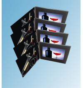 Buy cheap cartão video do LCD da tela de 155 x de 87mm com o botão Multifunction da from wholesalers
