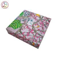 China Custom Printed Apparel Boxes Waterproof Feature Recycled Material wholesale