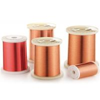 Buy cheap 0.4 - 0.8mm Solderable Polyurethane Enameled Copper Wire from wholesalers