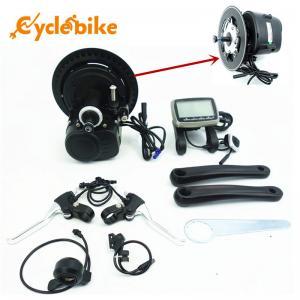 China Middle Postion Drive Motor Electric Bike Kit Torque Sensor 48v 350w on sale