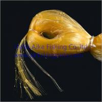 China 0.20mm*6ply nets,Nylon multi-mono fishing nets,germany material,shine yellow color,best strength and most soft wholesale
