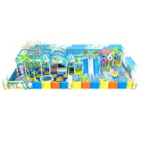 China Indoor Playground Inflatable Amusement Park / Inflatable Water Park 30-100 Persons on sale