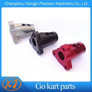 China Billet aluminum CNC Machined 15 Degree Angled Steering Wheel Boss on sale