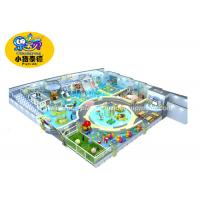 China Professional Toddler Soft Play Equipment / Children 'S Soft Play Area Equipment wholesale