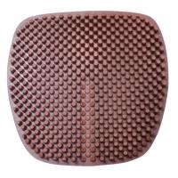 China 3D Breathable Cool Silicone Seat Cushion summer Home Office Car Gel Massage Non slip Chair Sofa seat Pad Mat on sale