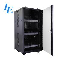 China USB Server Rack Cabinet IP20 Charging Cabinet Cooling Fan System Two Handles On Top on sale