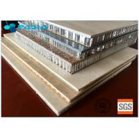 China Light Weight Long Duration Honeycomb Stone Cladding Panel For Wall Decoration wholesale