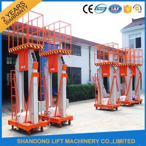 China 200kg 10m Movable Aerial Work Platform Lift , Hydraulic Safety Work Platform Rental on sale