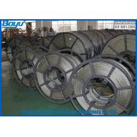 China 11mm Load 80kN Anti - Twist Galvanised Steel Wire Rope High Strength Long Life wholesale