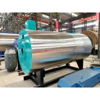 China Industrial oil Fired Thermic Fluid Heater , Oil / Gas Fired Thermal Fluid Systems wholesale