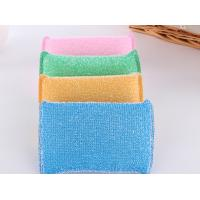 China Eco Friendly Non Abrasive Cleaning Pads Strong Water Absorption With Plastic Thread wholesale