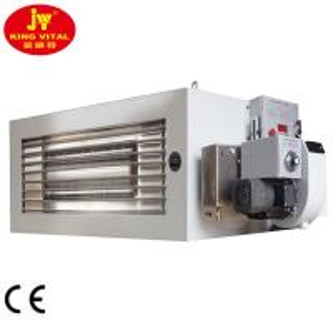 China 200000 Btu / H Oil Fired Garage Heaters 200 - 600 Sqm Heat Area Easy Installation on sale