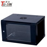 China Cold Rolled Steel 19 Inch Home Network Rack 6U Wall Mount Server Cabinet wholesale