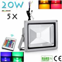 China Beautiful Design 30W RGB LED Outdoor Waterproof Flood Light Wash Floodlight Lighting With Remote Controller AC85-265V wholesale