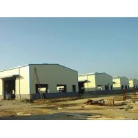 China Q235B / Q355B Material Light Steel Structure Warehouse Glass Wool Wall / Roof on sale