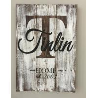 Buy cheap Home Decorative Wooden Wall Plaques , Wall Sign Sayings 30 X 40 Cm Size from wholesalers