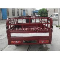 Professional Manul Clutch Cargo Motor Tricycle , 3 Wheeled Motorbikes
