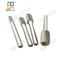 China BMR TOOLS C type Cylinder Radius End Cut tungsten carbide burrs rotary files wholesale