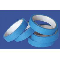 China High Performance Crepe Paper Blue Masking Tape For Humid Wall And Floor wholesale