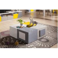 China Modern living room big multi-function coffee table with drawers wholesale